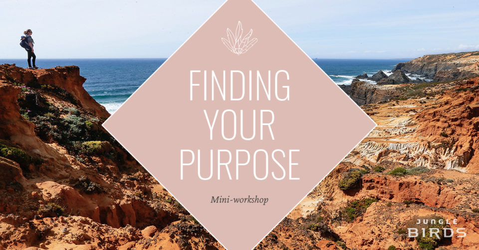 finding your purpose mini workshop